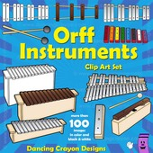 Triangle clipart orff instruments Musical  Clip Art Instruments