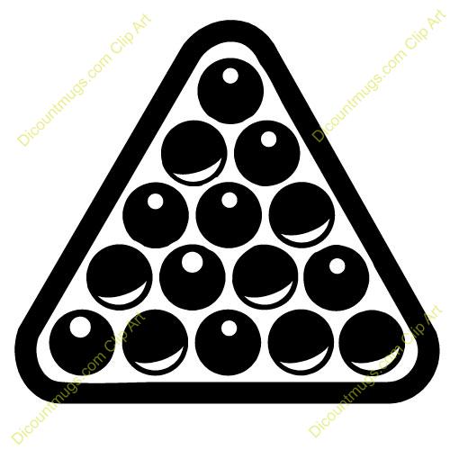 Billiard Ball clipart rack Clipart Clipart Clipart Billiards Panda