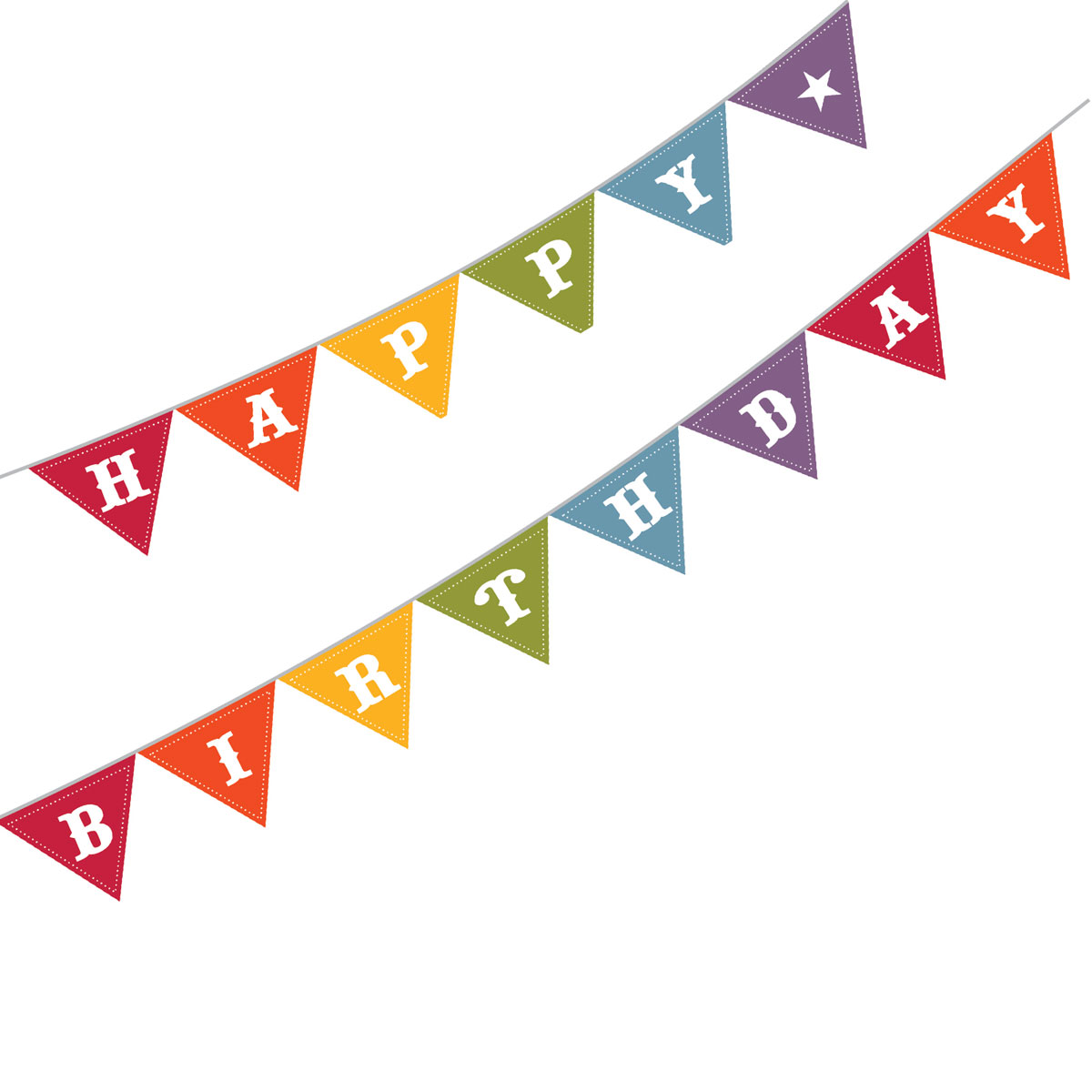 Birthday clipart pennant Banner clipart 41 birthday Flag