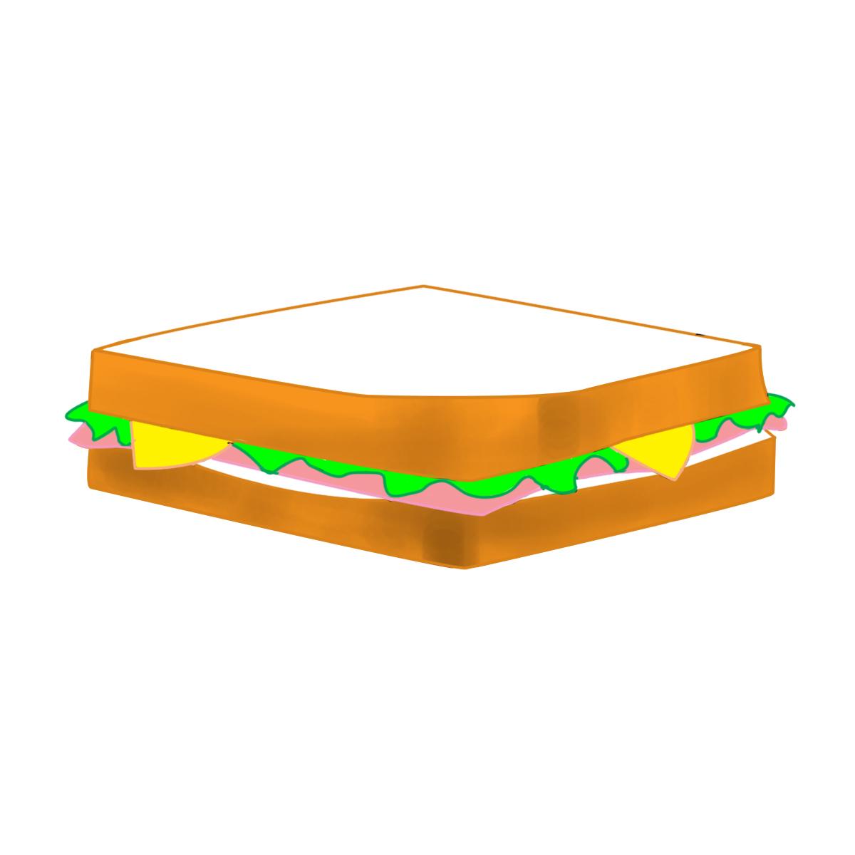 Ham clipart sandwhich Clipart Clipart Panda Sub sub%20sandwich%20drawing