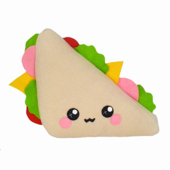 Sandwich clipart triangular PNG Sandwich cartoon Triangle Clipart