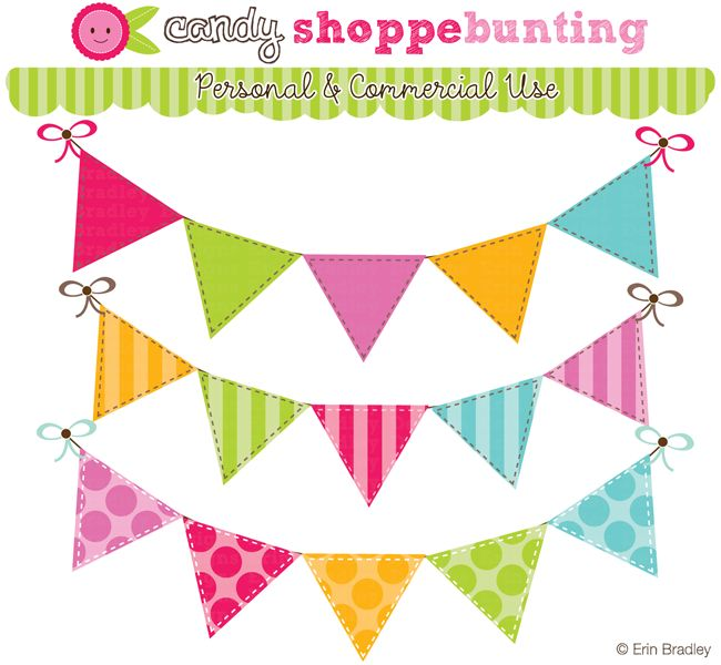 Birthday clipart pennant Images about on best idees