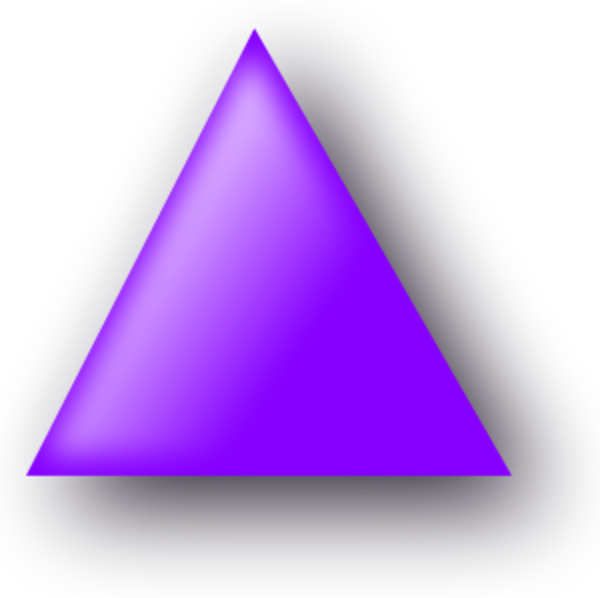 Triangle clipart small PNG Medium Small PNG Download