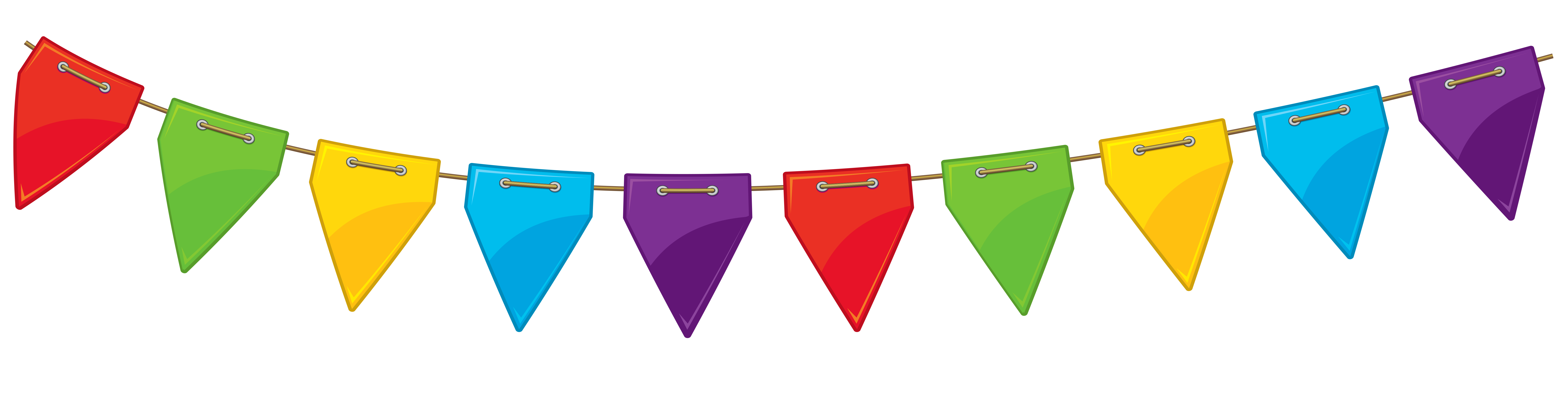Triangle clipart streamer Clipart Gallery Transparent PNG High