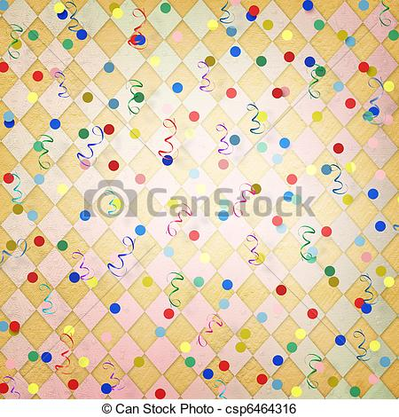 Triangle clipart streamer With streamer And bright With