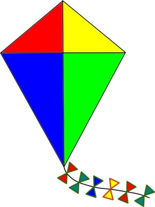 Toy clipart kite #10