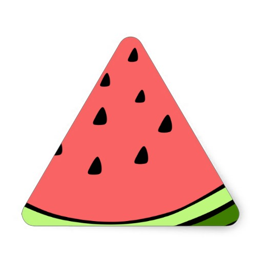 Triangle clipart triangle objects Images Free watermelon%20triangle%20slice Clipart Panda
