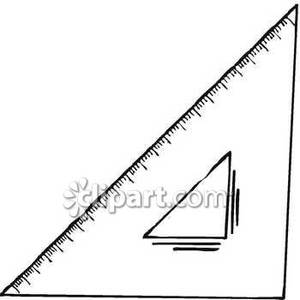 Triangle clipart triangle objects Ruler Clipart Royalty Royalty A
