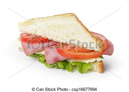 Triangle clipart triangle sandwich Stock  cheese triangle and