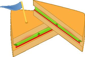 Triangle clipart triangle sandwich Vector Ashkyd com Flag A