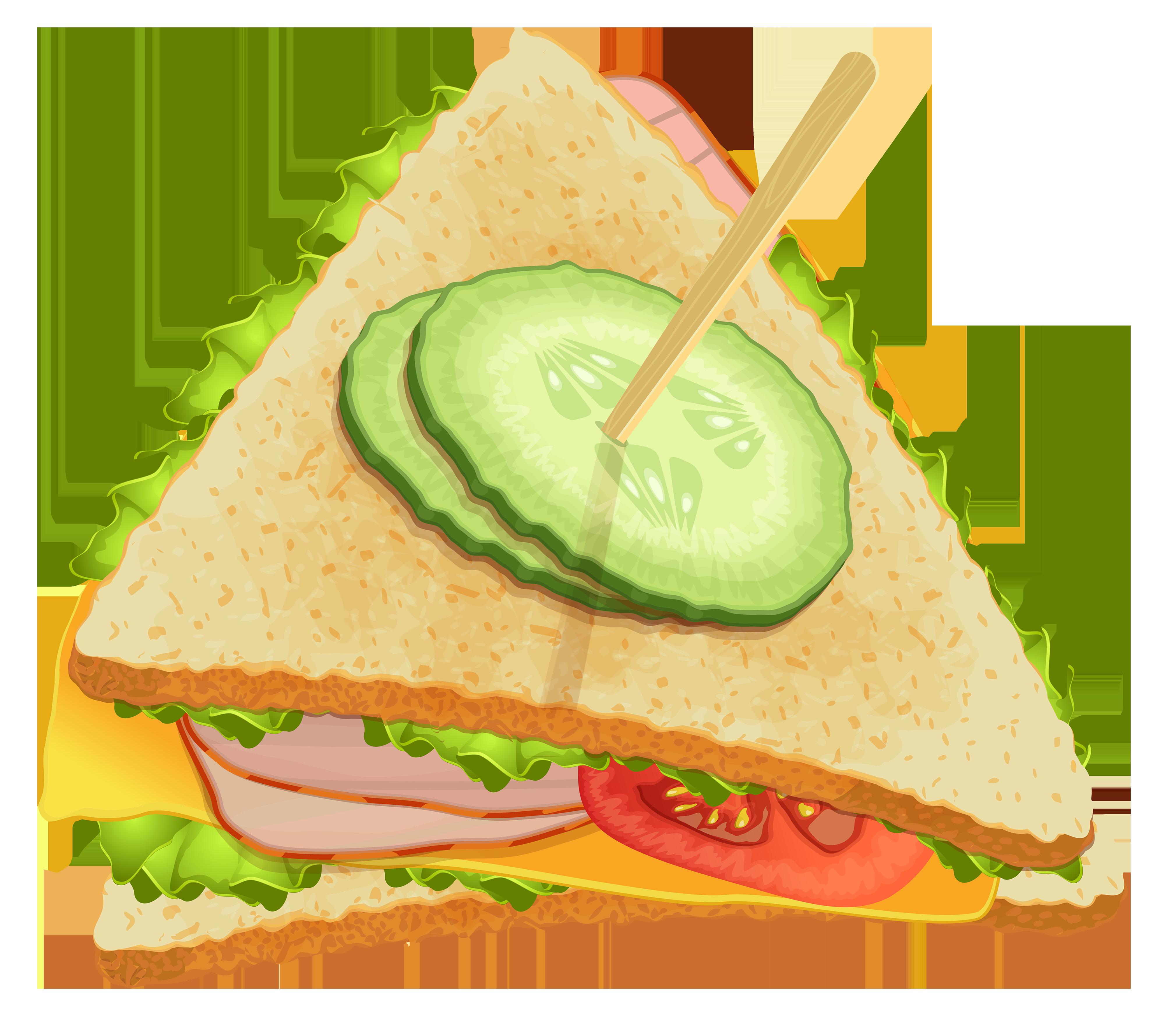 Triangle clipart triangle sandwich Sandwich RoyaltyFree cartoon Images Triangle