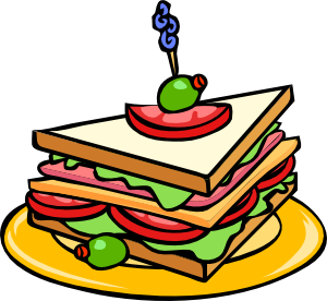 Club clipart sandwitch Art Triangle com vector Sandwich
