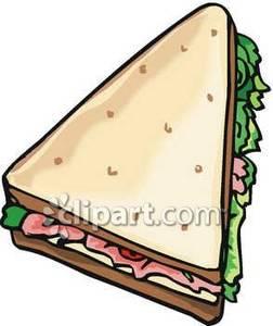 Triangle clipart triangle sandwich Cut Free Free Sandwich Clipart