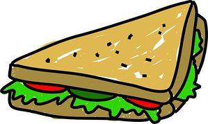 Triangle clipart triangle sandwich Free Free Clipart Clipart sandwich%20clipart