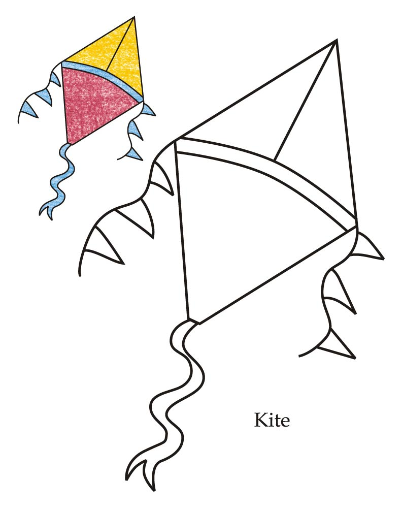 Diamond clipart objects Images Free Pages kite%20coloring%20pages Clipart