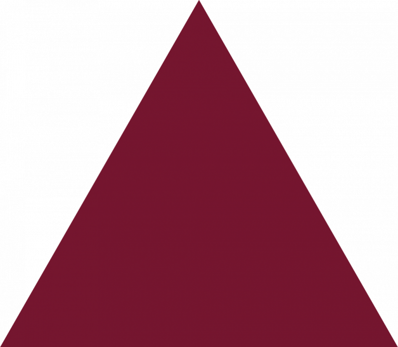 Triangle clipart triangle thing Shape Clipart  Triangle Burgundy