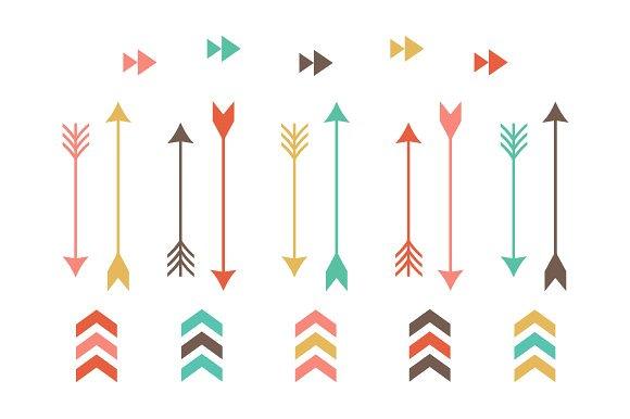 Aztec clipart arrow #4