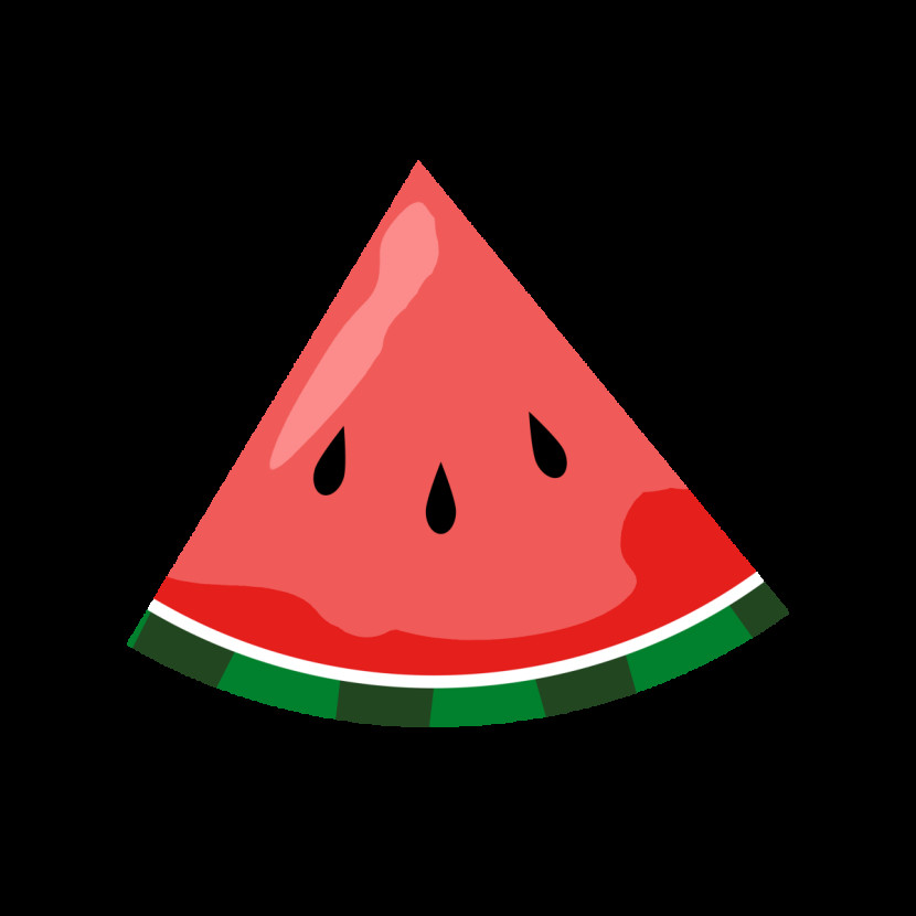 Watermelon clipart triangle Clipart Watermelon Slice com Watermelon