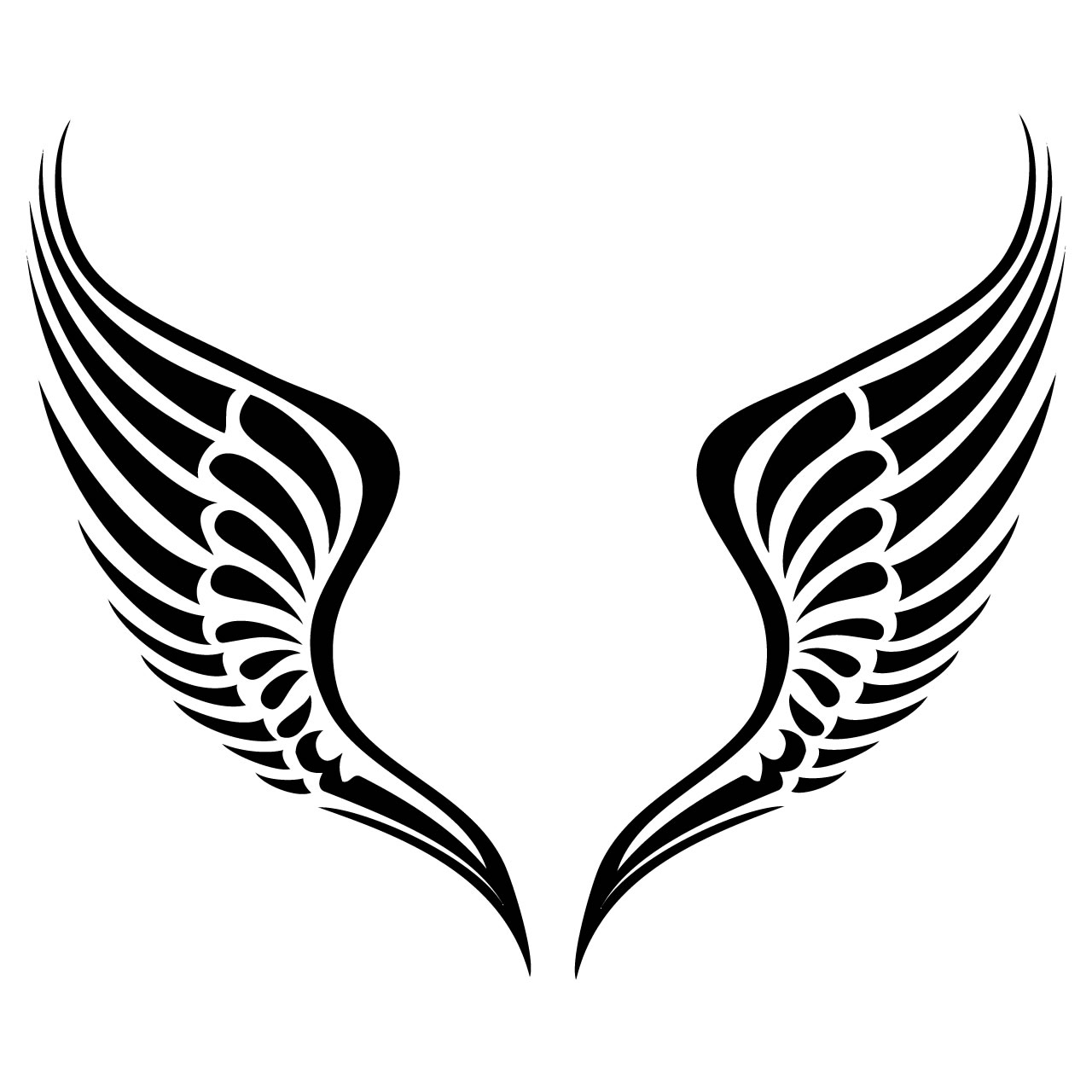 Halo clipart free wing Clipart Tribal Free Savoronmorehead Tribal