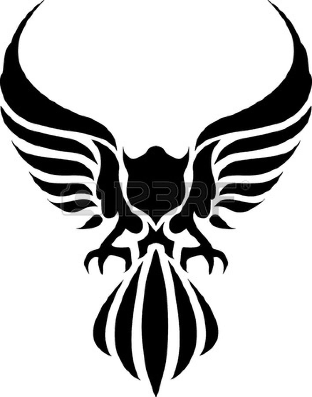 Black Eagle clipart spread eagle Free Clipart  Eagle American