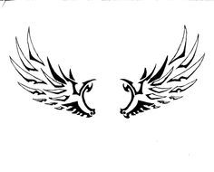 Tribal clipart angel Best Tribal Inspiration Wings ClipArt