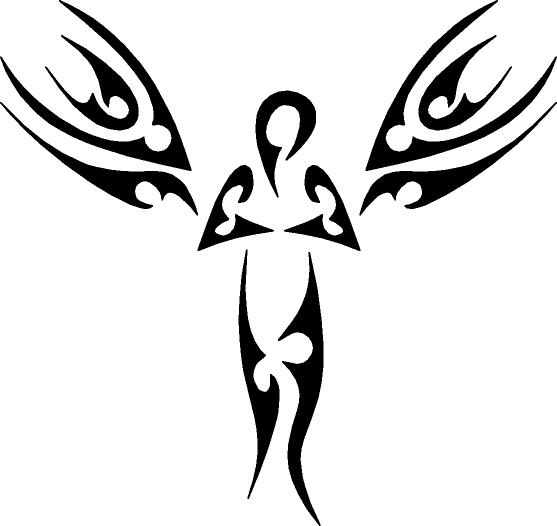 Tribal clipart angel More! Explore Ink tribal and