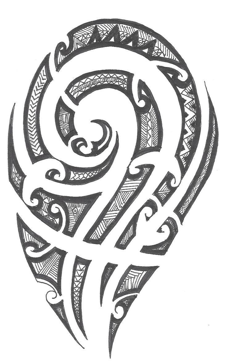 Polynesia clipart Designs on Best art tribal