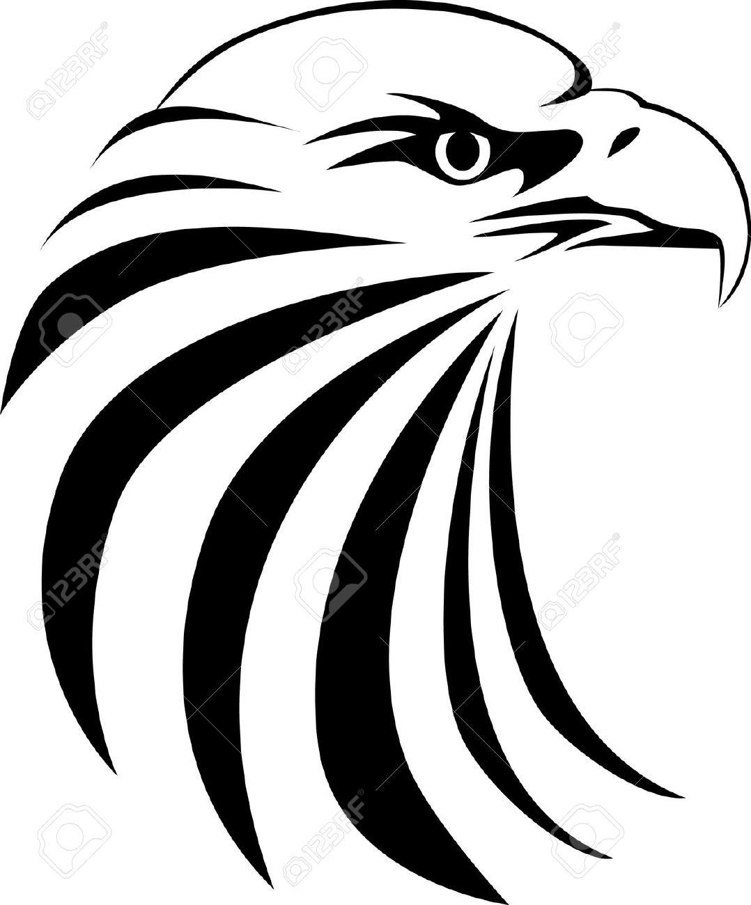 Beak clipart vertebrate Tribal Hawk Tribal cliparts Clipart