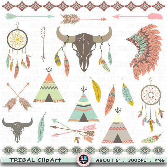 Aztec Warrior clipart tribal Feathers INDIAN Pinterest Catcher