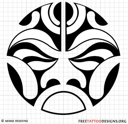 Tribal clipart circular Tribals back Tribal sun tattoo