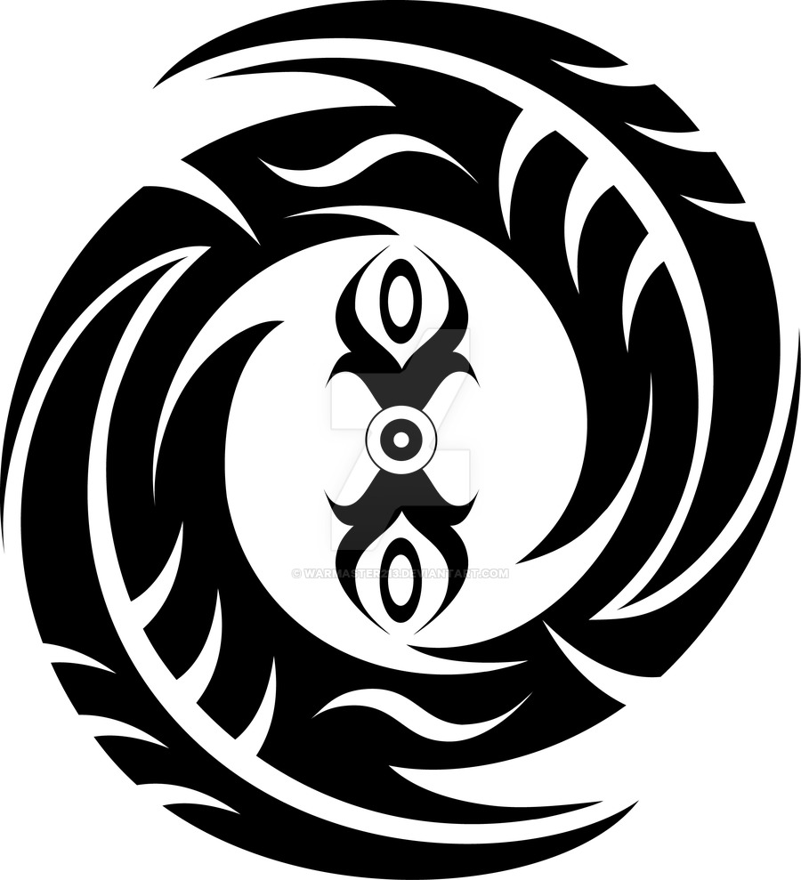 Tribal clipart circular By circle WarMaster213 Tribal on