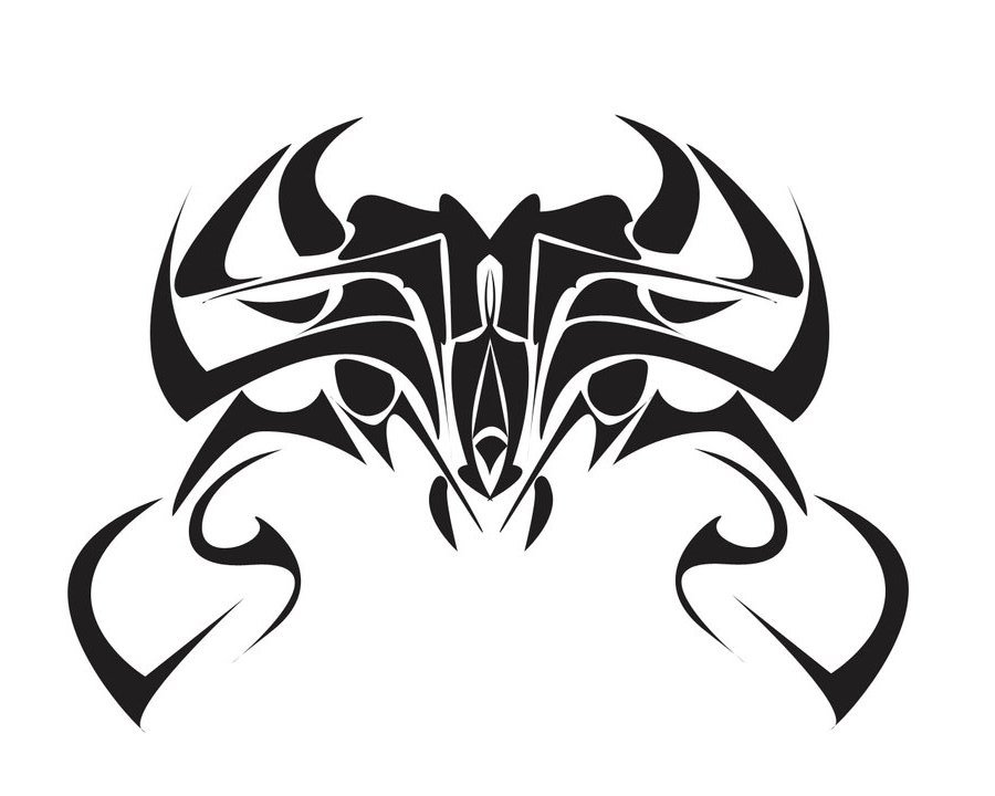 Tribal clipart crab Free Designs Tribal Art To