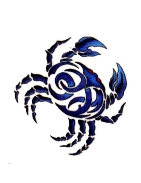 Tribal clipart crab Tribal crab Tattoo Crab Tribal