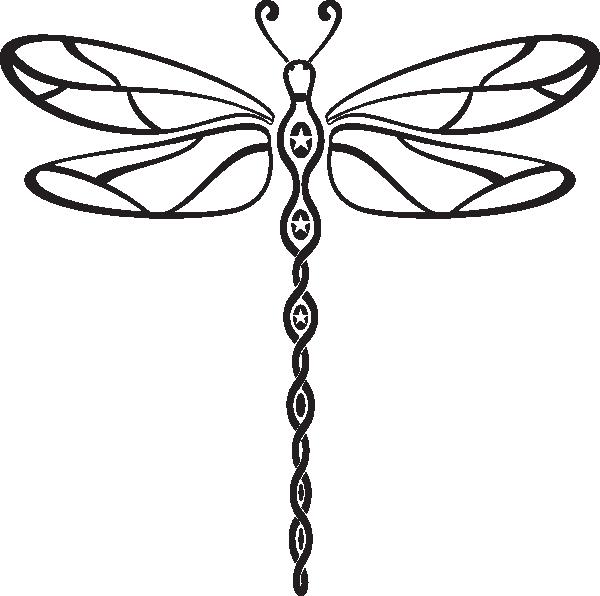 Tribal clipart dragonfly Tribal art dragonfly Style art