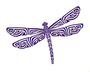 Tribal clipart dragonfly This one Tribal would I