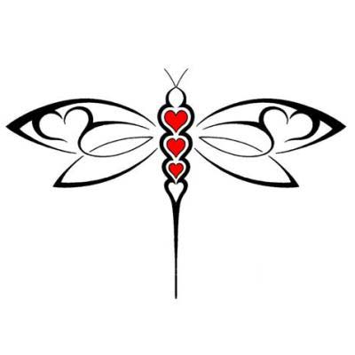 Tribal clipart dragonfly Dragonfly Pictures Dragonfly Tattoos with