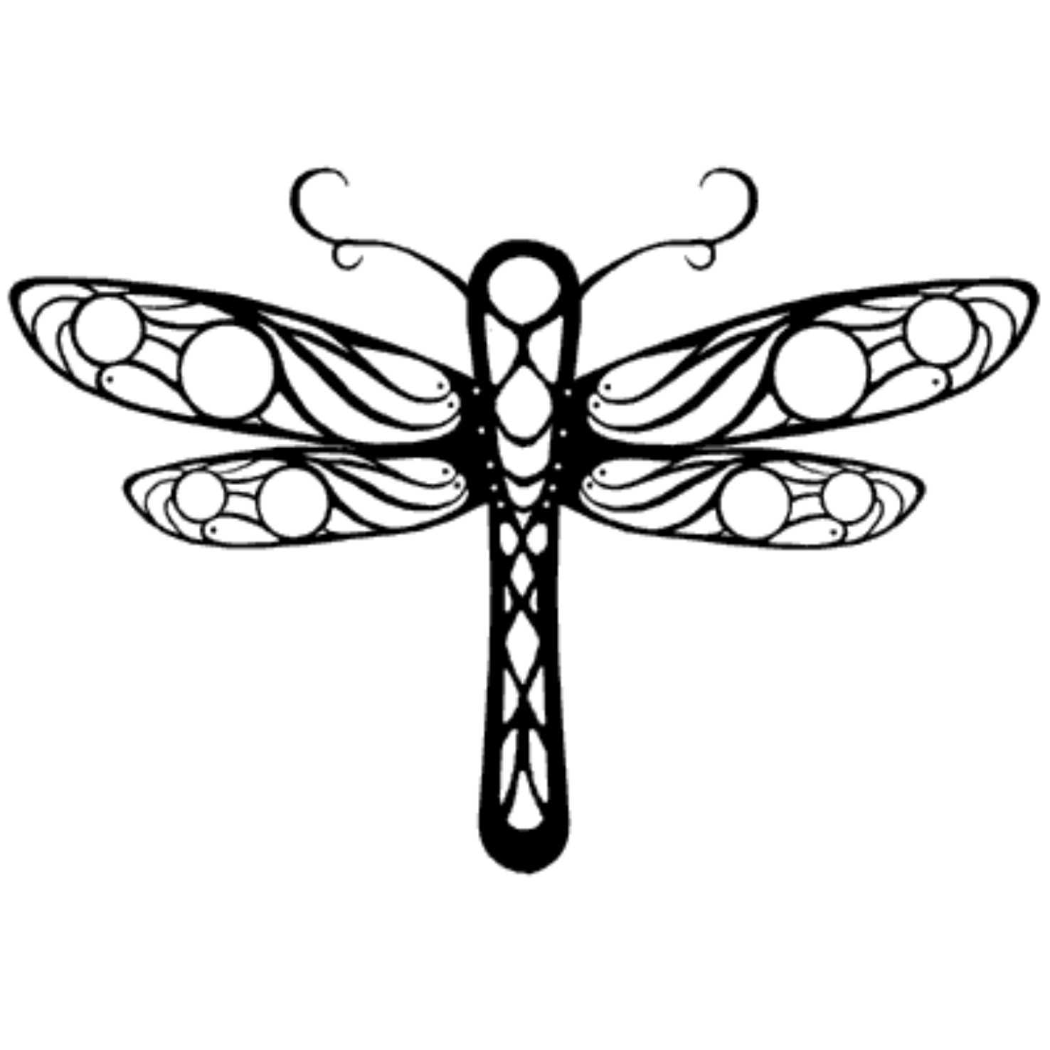 Tribal clipart dragonfly Art Dragonfly  Clip Free