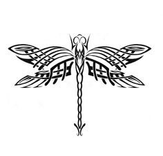 Tribal clipart dragonfly This TattooDragonfly Google would I