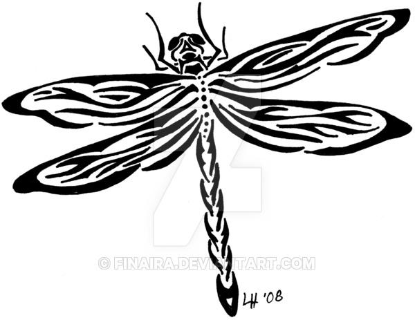 Tribal clipart dragonfly On Tribal Finaira DeviantArt Tribal