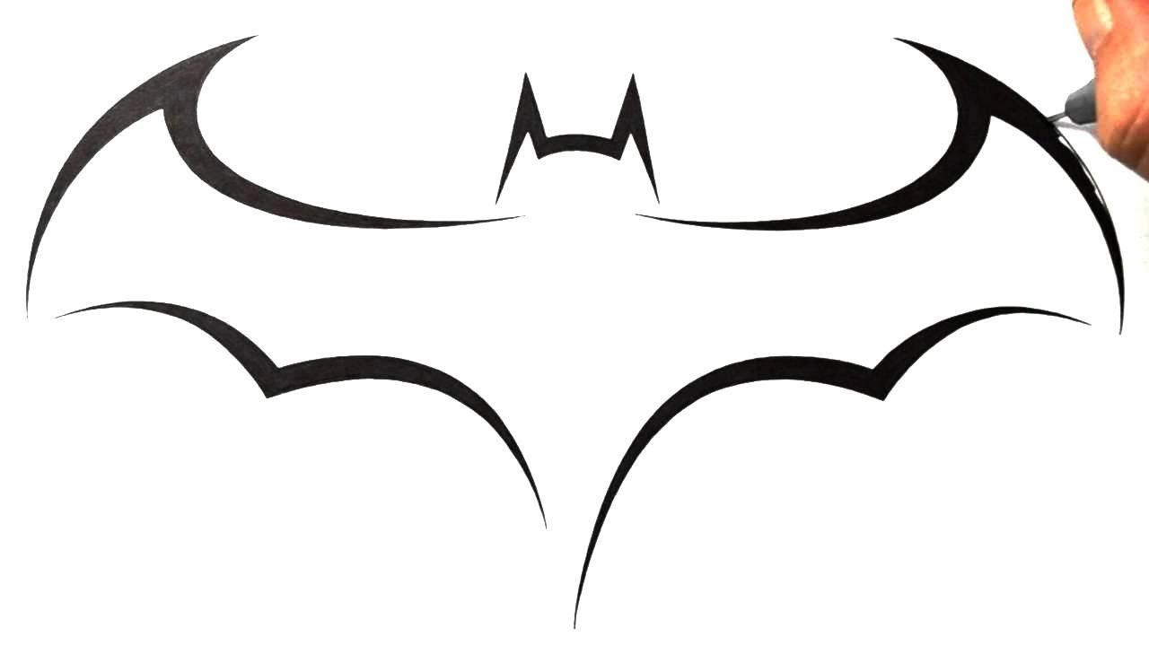 Drawn pice batman  Batman YouTube Logo How