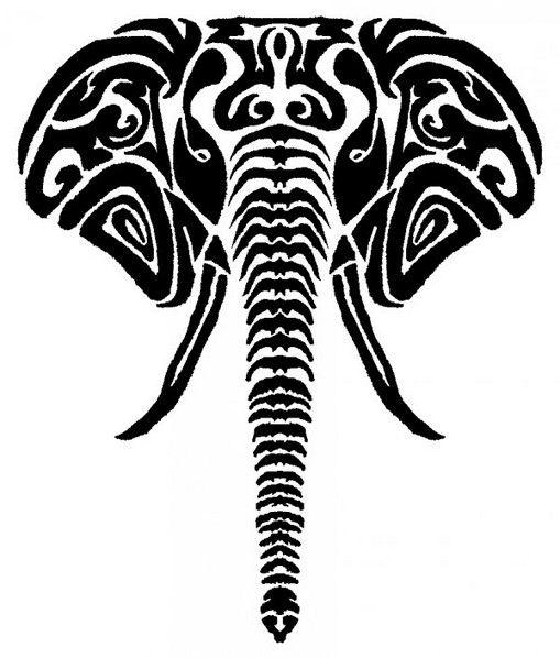 Drawn triipy elephant On elephant elephant Best drawing