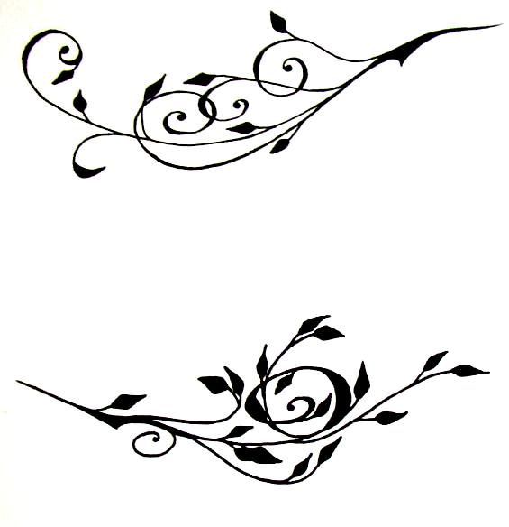 Ivy clipart tribal Free Vines Clip Download Art