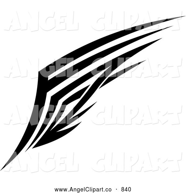 Angel clipart tribal #8