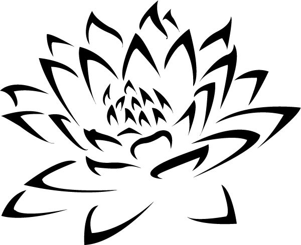 Tribal clipart tribal person Pinterest Lotus ideas Tribal Google