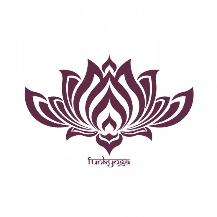 Tribal clipart lotus Google Pinterest Flower about flower