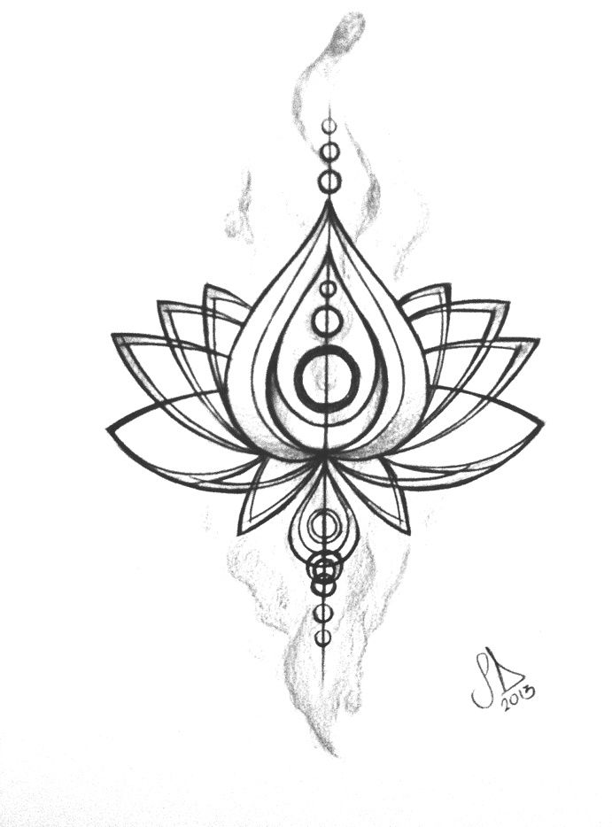 Tribal clipart lotus Design Art Clip Free Tattoo