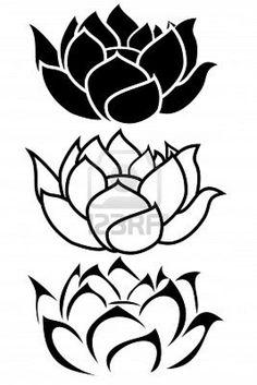 Tribal clipart lotus Tattoo tattoo Tribal lotus meaning
