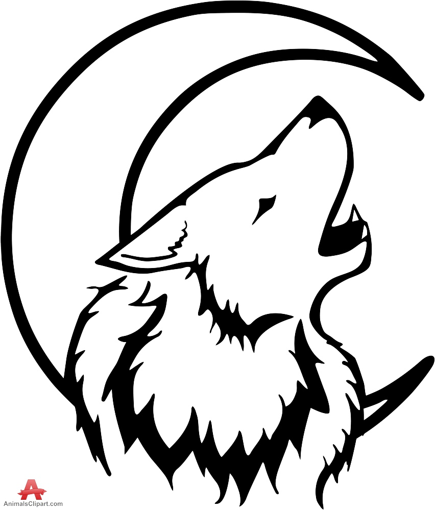 Clipart Clipart  with Wolf