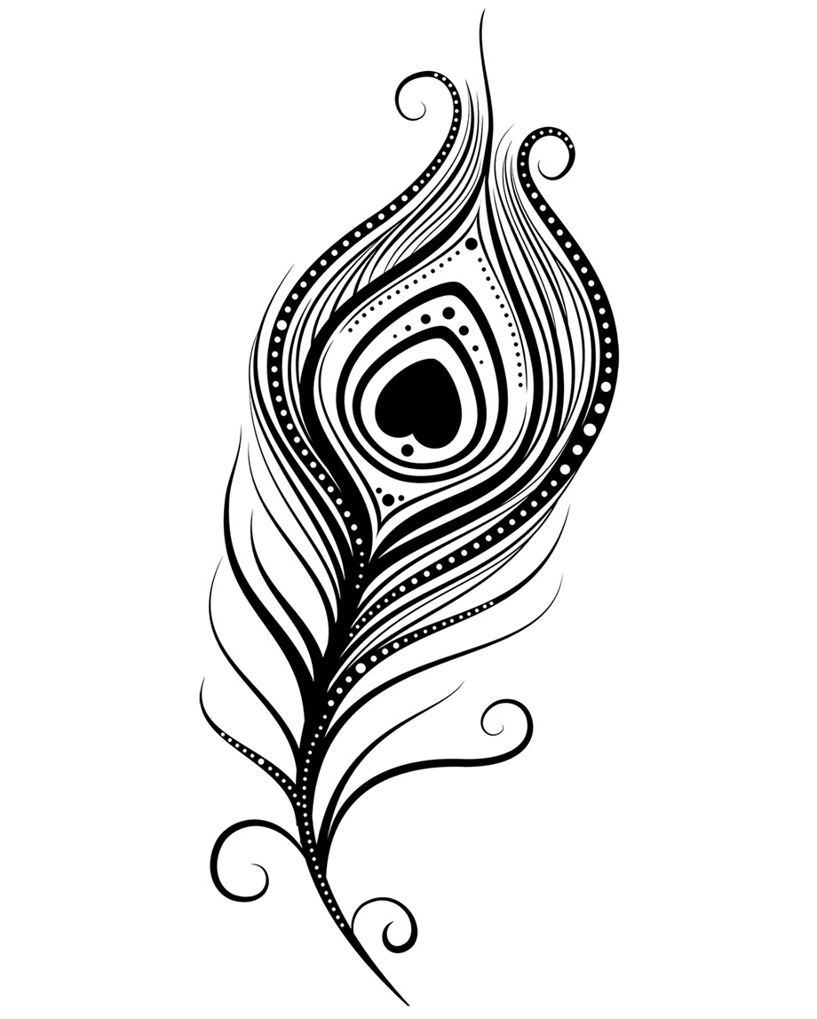 Peacock clipart tribal Peacock Free Page Feather Panda