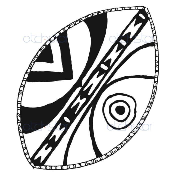 Spear clipart zulu Search Shields designs shield Google